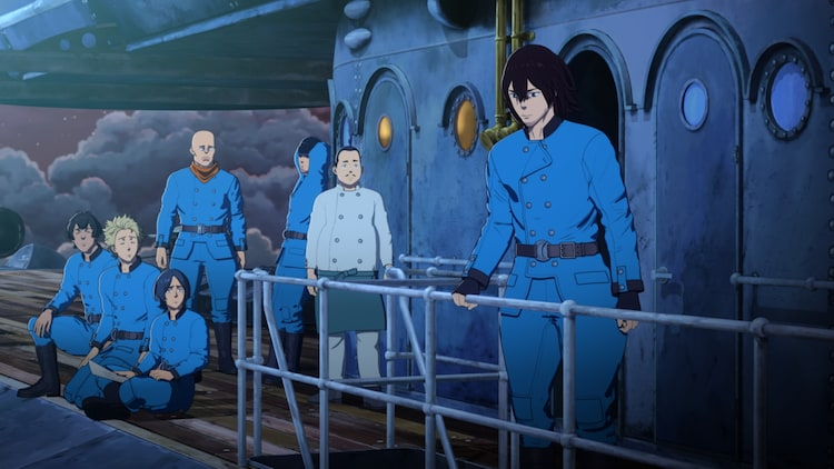TVアニメ「空挺ドラゴンズ」より。
