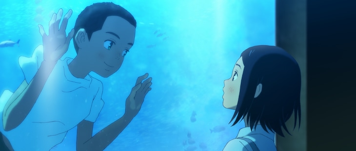 "アニメ映画「海獣の子供」より。(c)2019 Daisuke Igarashi・Shogakukan /""Children of the Sea"" Committee"
