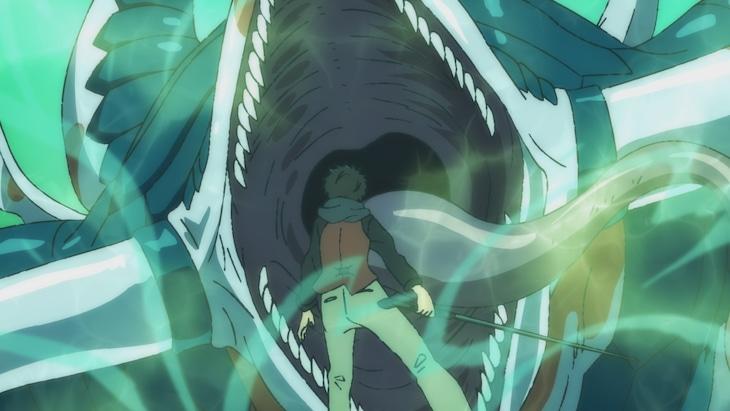 TVアニメ「神之塔 -Tower of God-」第1話より。