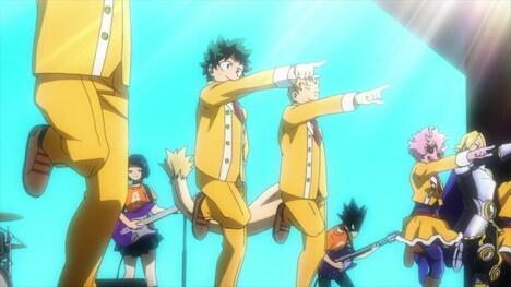 「『Hero too』スペシャルミュージックビデオ」より。
