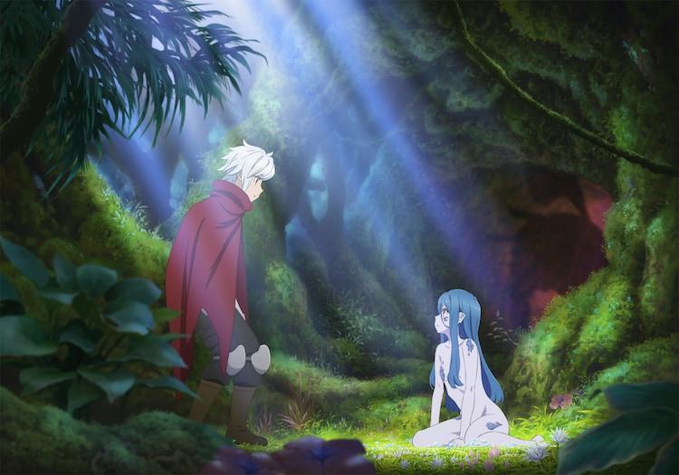 TVアニメ「ダンジョンに出会いを求めるのは間違っているだろうかIII」ティザービジュアル