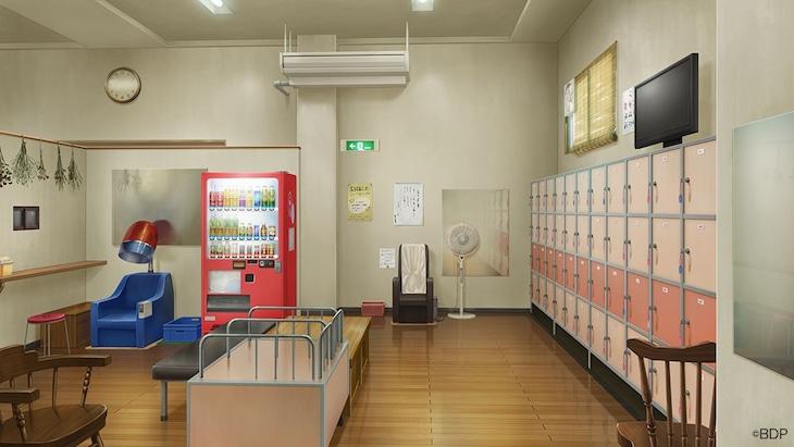 アニメ「BanG Dream! 3rd Season」のビデオ会議用バーチャル背景画像。