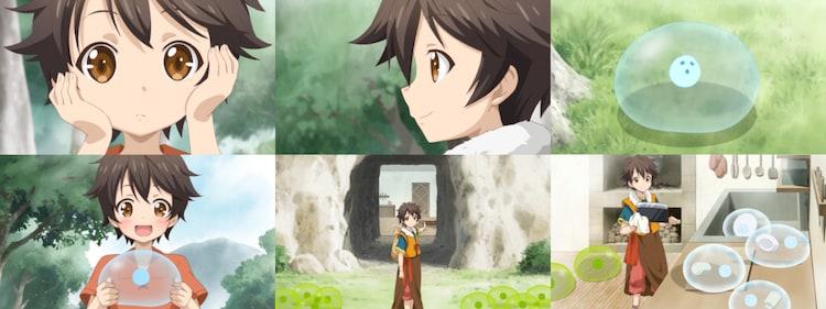 TVアニメ「神達に拾われた男」ティザーPVより。
