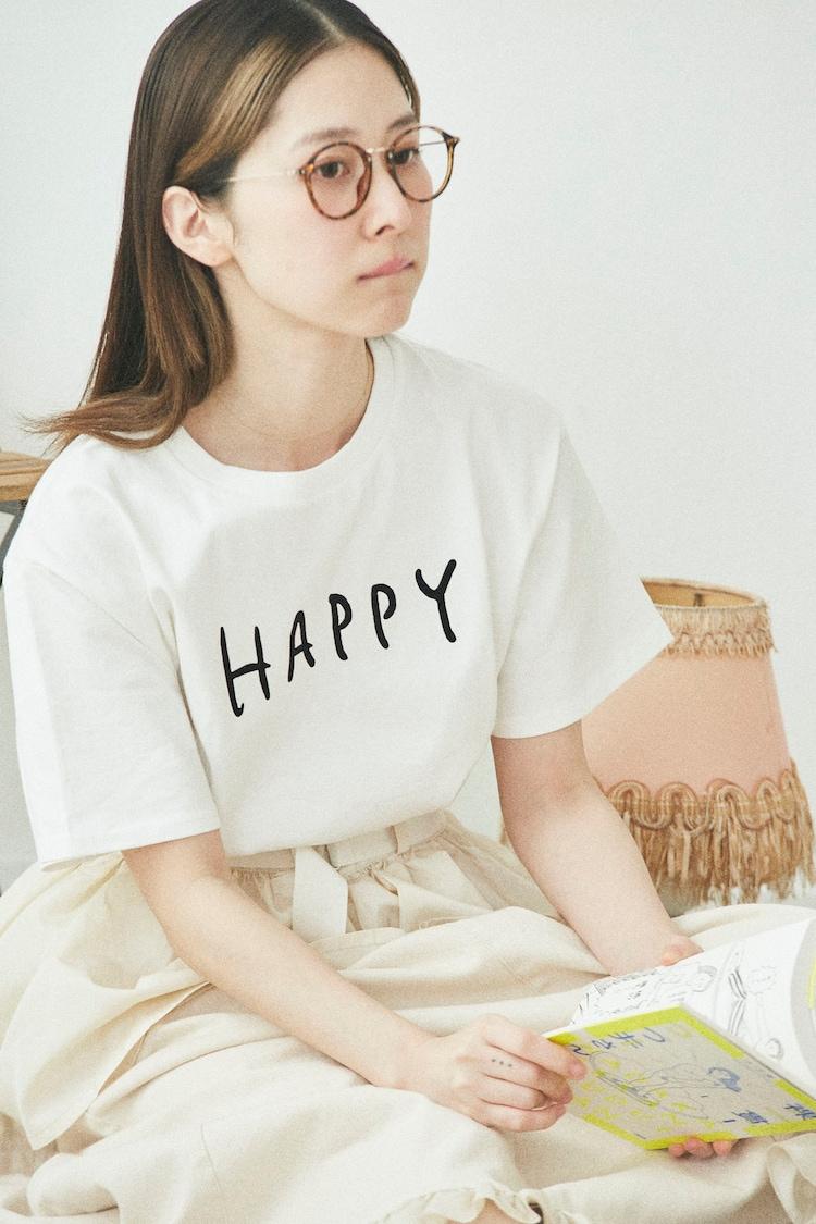 「つづ井さんのHAPPY Tシャツ」