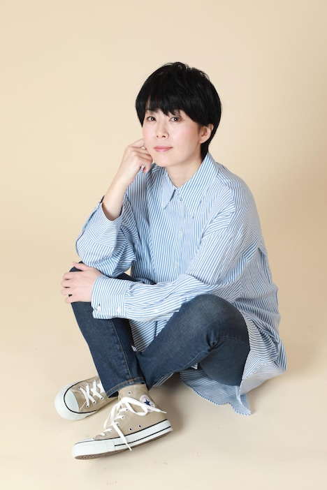 幸村精市役の永井幸子。