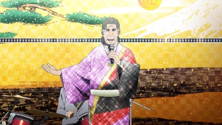 「空の青さを知る人よ」より、松平健演じる演歌歌手・新渡戸団吉。
