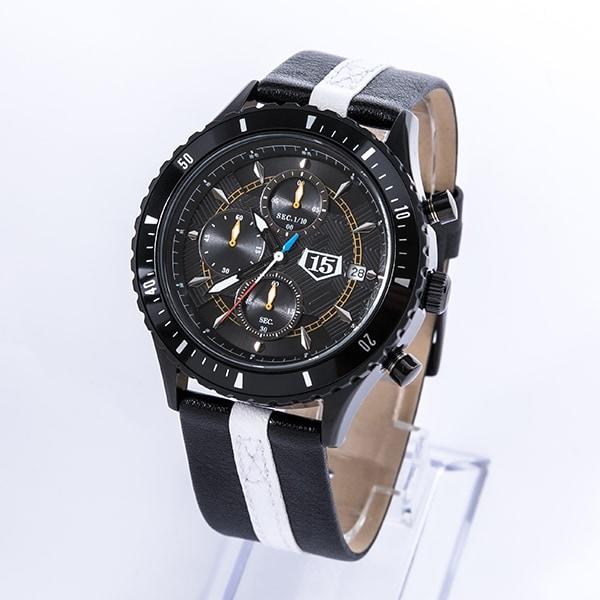 黒崎一護モデルの腕時計。