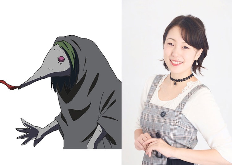 Akane Odagiri who plays the role of Buiyosen.