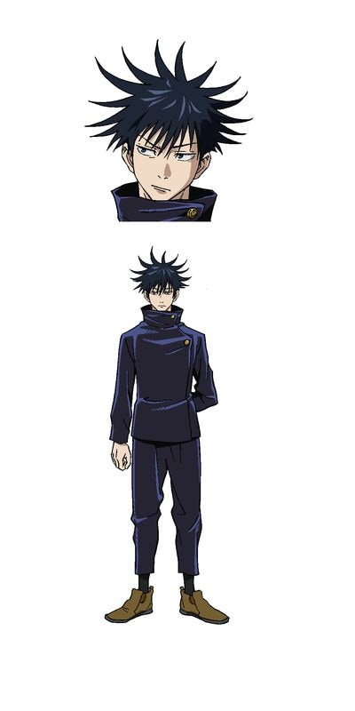 Megumi Fushiguro (CV: Yuma Uchida). 1st year at Tokyo Metropolitan Magic College. Grade 2. A genius who enrolled as a second-class magician, he is the only first grader who is allowed to perform a single mission. Have the belief that you will protect those who you cherish from one's past experience.