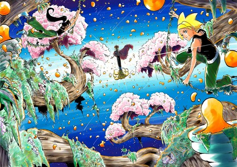 「Dreamers」のカラーカット。(c)Charles Compain/Shibuya Productions/Shueisha
