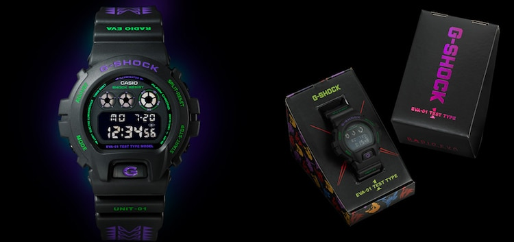 「EVANGELION STORE オリジナル腕時計 G-SHOCK DW-6900 feat.RADIO EVA」