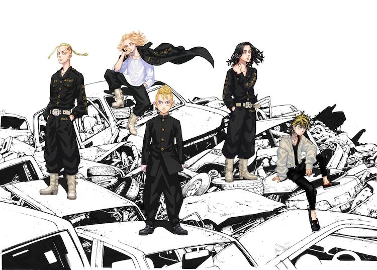 「東京卍リベンジャーズ」和久井健による描き下ろしティザービジュアル。