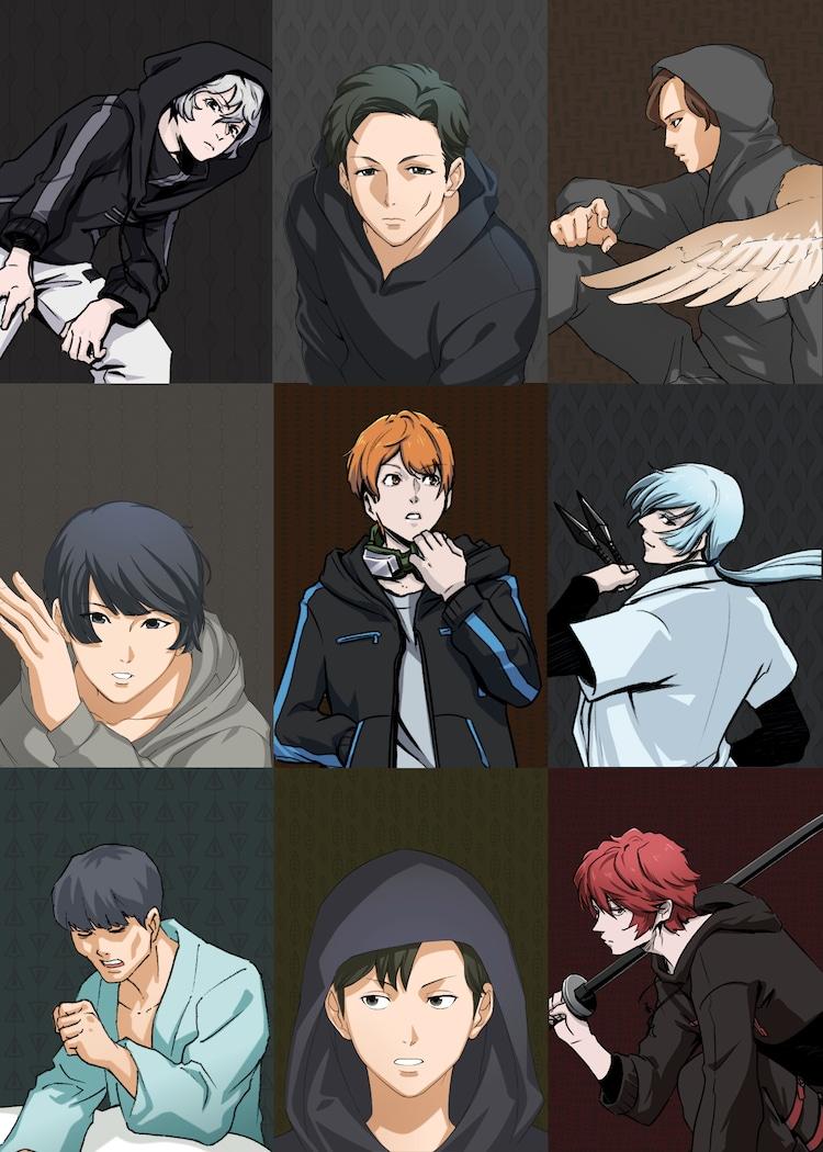 TVアニメ「忍者コレクション」の登場キャラクター。