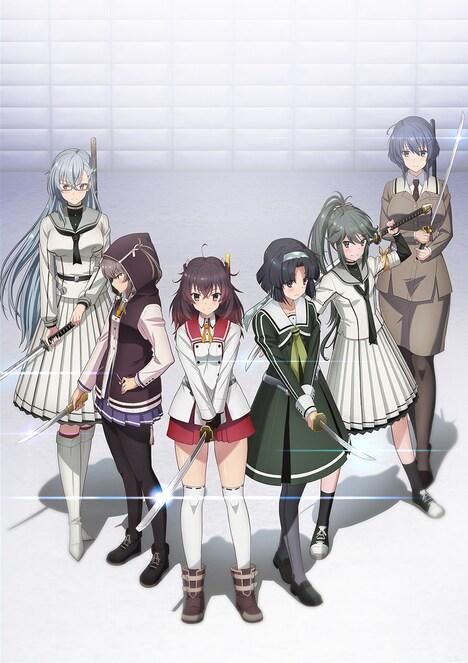 OVA「刀使ノ巫女 刻みし一閃の燈火」キービジュアル