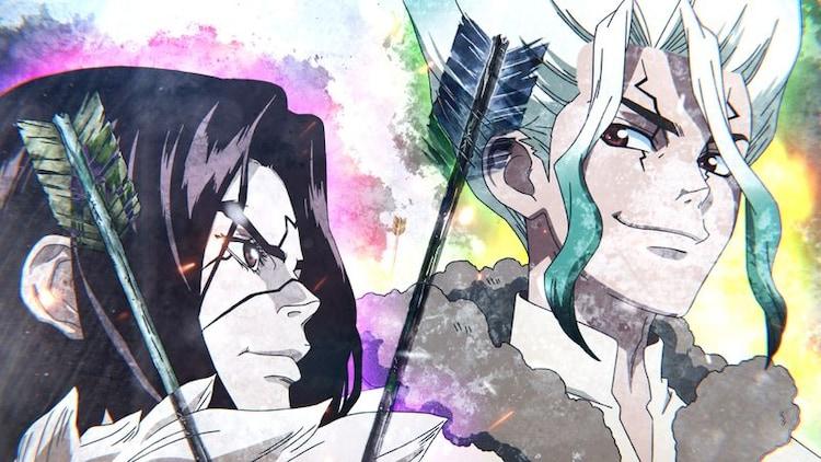 TVアニメ「Dr.STONE」第2期のティザーPV第2弾より。