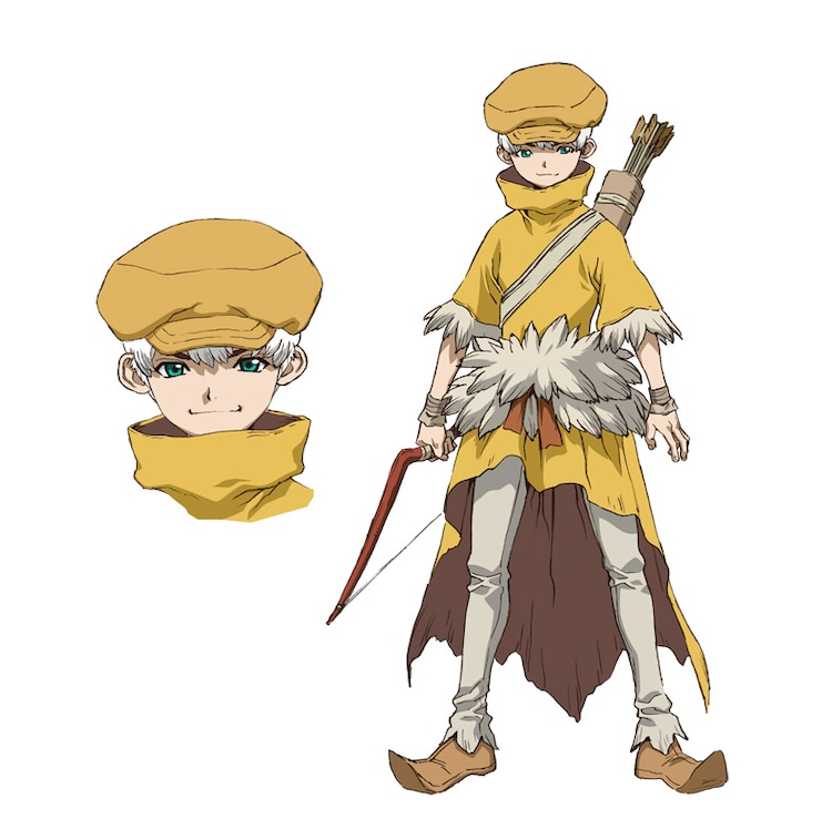 Saionji Hakyo. Along with Tsukasa and Higetsu, the archer of the powerful man who can be counted in the top three of the Empire. Before petrification, he was a self-defense officer and a submarine sonarman. Expected to be the arm and hearing of the bow, he is mainly in charge of watching in the Empire.