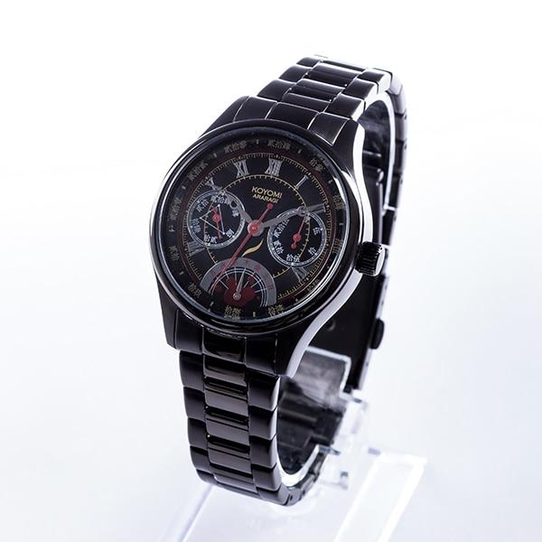 阿良々木暦モデルの腕時計。