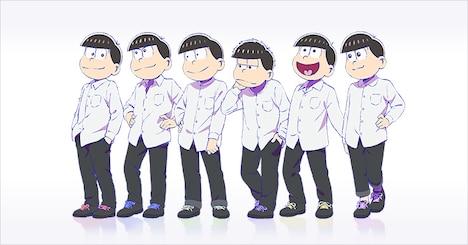 TVアニメ「おそ松さん」ファンクラブ用の描き下ろしイラスト。