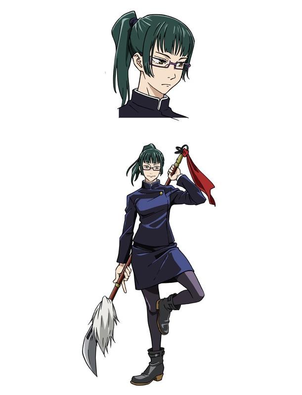 Set picture of Maki Teinin (CV: Mikako Komatsu).