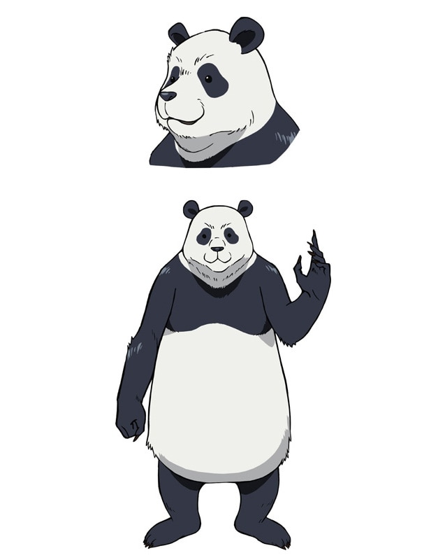 Setting picture of panda (CV: Tomokazu Seki).