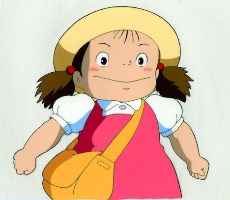 「なつかしの昭和・平成アニメセル画展」で販売される「となりのトトロ」のセル画。
