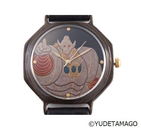 悪魔将軍の腕時計。