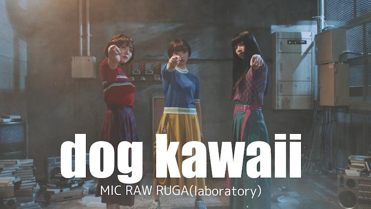 「dog kawaii」のMVより。