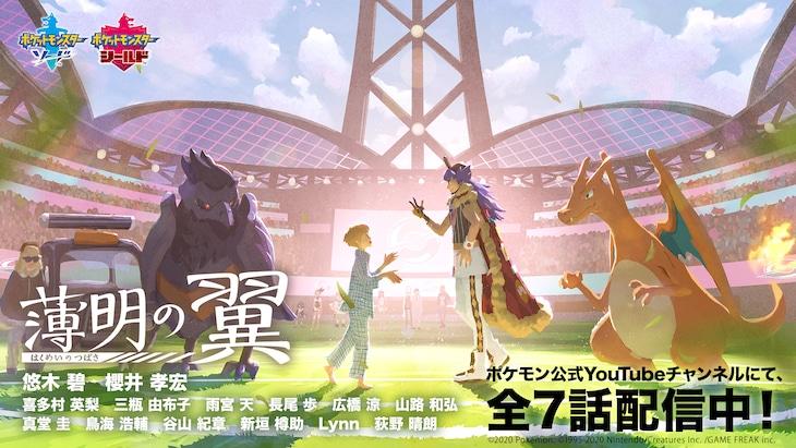 「ポケットモンスター ソード・シールド」オリジナルアニメ「薄明の翼」 新ビジュアル
