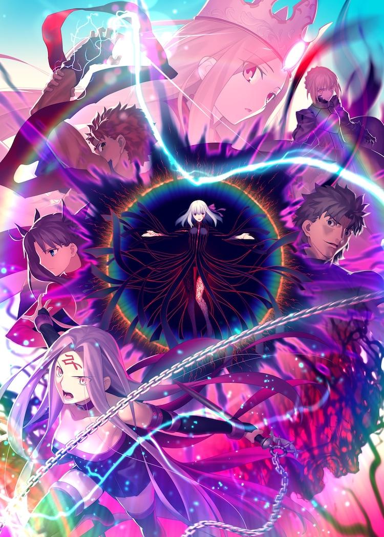 劇場版「『Fate/stay night [Heaven's Feel]』III.spring song」第3弾キービジュアル
