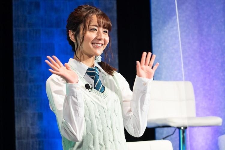 月城愛弓/キューピット役の瑞季。