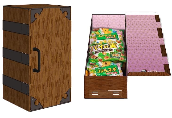 Wチャンス賞「禰豆子の箱型お菓子BOX」