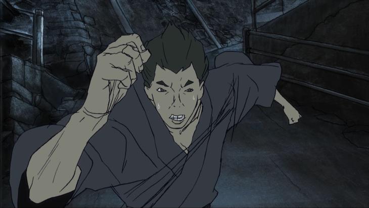 TVアニメ「ケモノヅメ」より。(c)2006湯浅政明/マッドハウス・ケモノヅメ製作委員会