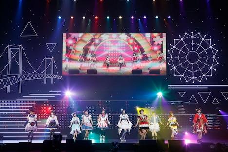 「ラブライブ!虹ヶ咲学園スクールアイドル同好会 2nd Live!」の様子(画像は12日公演のもの)。