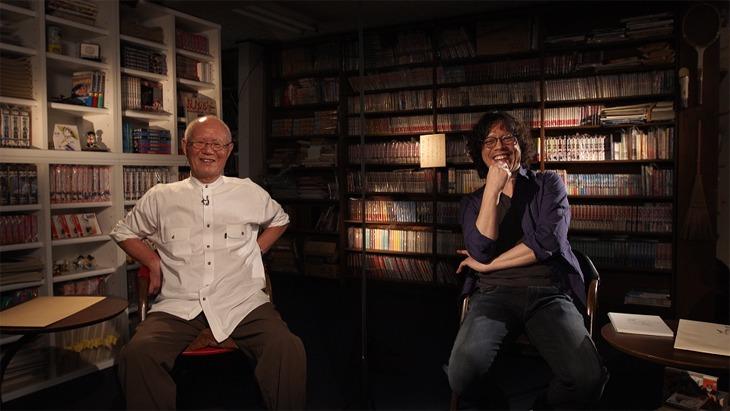 「浦沢直樹の漫勉neo」第1回はちばてつやが登場。 写真提供:NHK