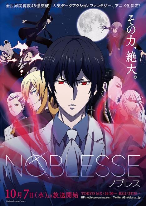 アニメ「NOBLESSE -ノブレス-」メインビジュアル
