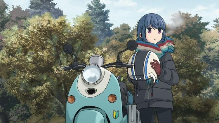 TVアニメ「ゆるキャン△ SEASON2」特報より。