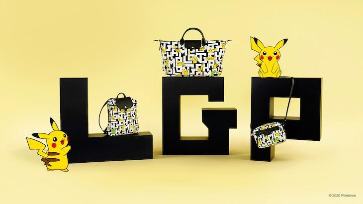 「Longchamp × Pokemon」ビジュアル