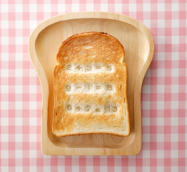 「ドラえもんアンキパンメーカー」で作ったトースト。