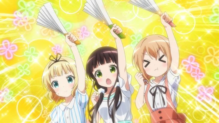 TVアニメ「ご注文はうさぎですか? BLOOM」PVより。