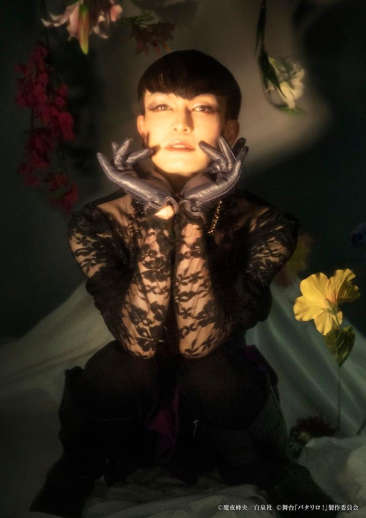 小沢道成演じる魔夜メンズ。