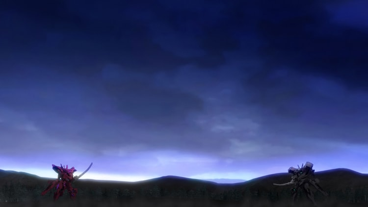 TVアニメ「マブラヴ オルタネイティヴ」特報PVより。