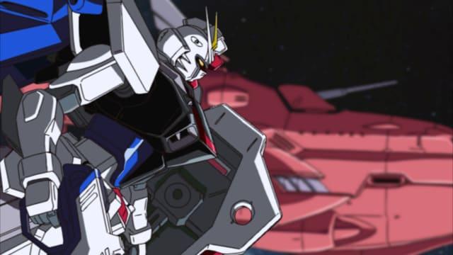 「機動戦士ガンダムSEED スペシャルエディション完結編 鳴動の宇宙 HDリマスター」より。