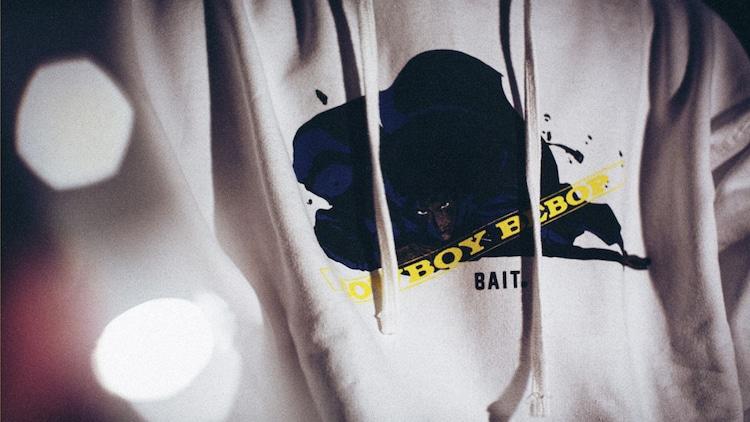 「BAIT x Cowboy Bebop Men Versus Hoody」のイメージ。