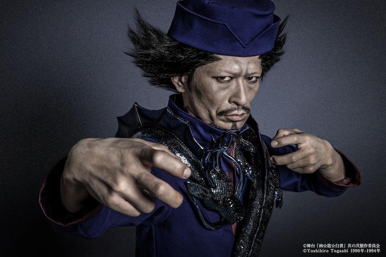 榎木智一演じる青龍。