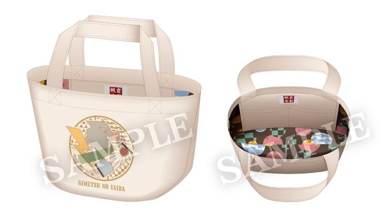 Ponta会員・dポイント会員対象キャンペーンの景品「オリジナル倉敷帆布ミニトートバッグ」。