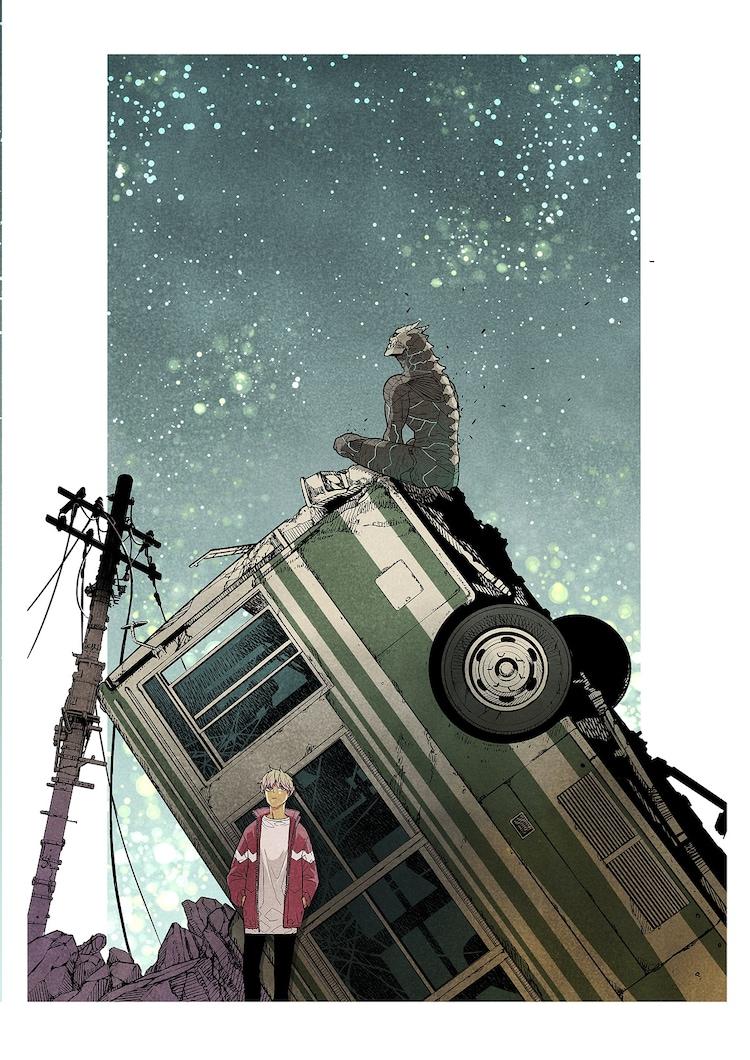 「怪獣8号」カラーイラスト (c)松本直也/集英社