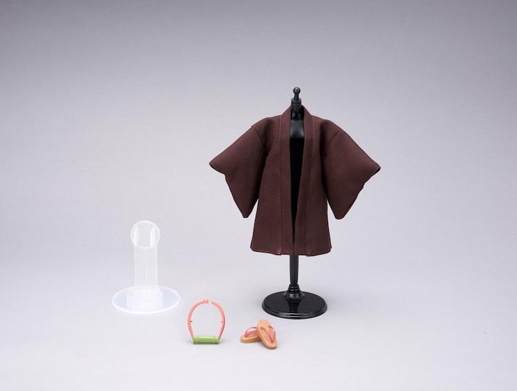 「鬼滅の刃 竈門禰豆子×リカちゃん」の着せ替えパーツ。