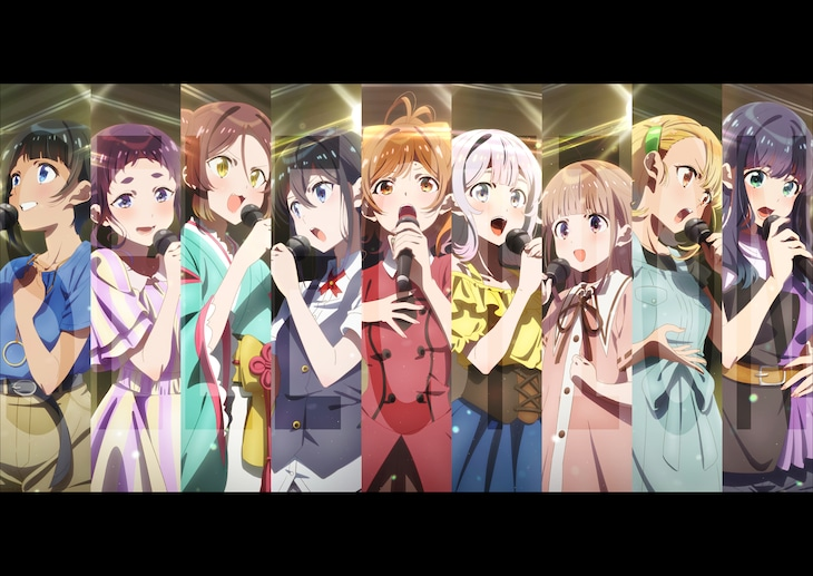 TVアニメ「SELECTION PROJECT」キービジュアル