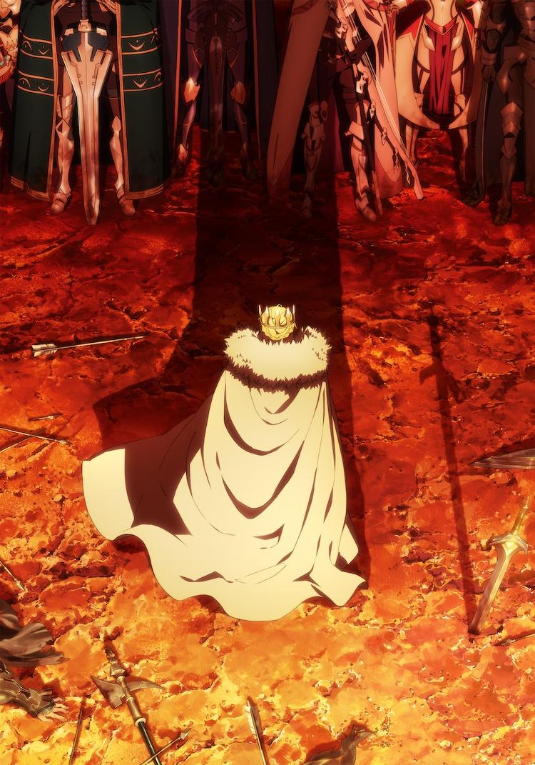 「劇場版 Fate/Grand Order -神聖円卓領域キャメロット- 後編 Paladin; Agateram」ティザービジュアル