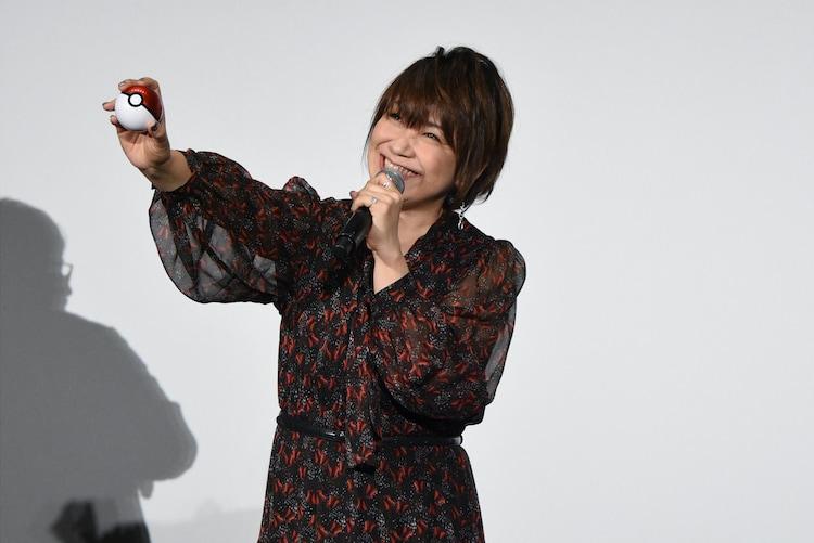 「みんなの笑顔」をゲットしたい松本梨香。
